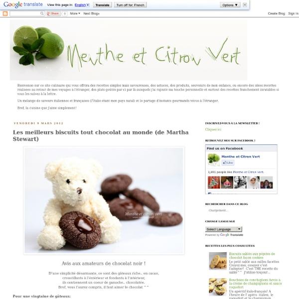 Les meilleurs biscuits tout chocolat au monde (de Martha Stewart)