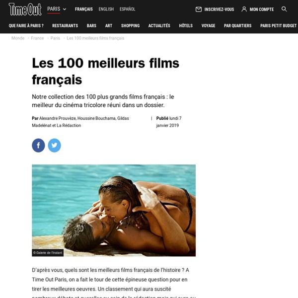 Meilleurs films français : le top 100 du cinéma en France