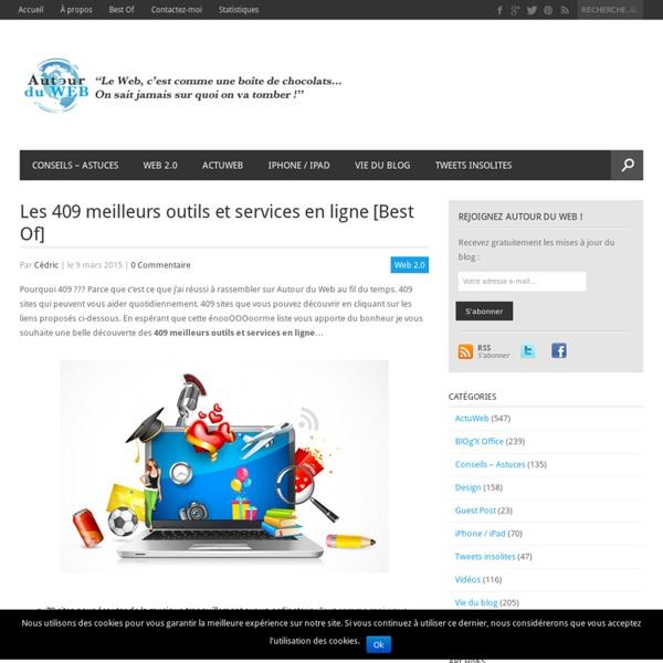 Les 409 meilleurs outils et services en ligne [Best Of]