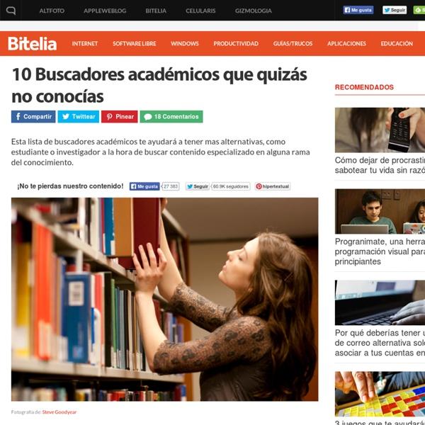 Los mejores buscadores académicos