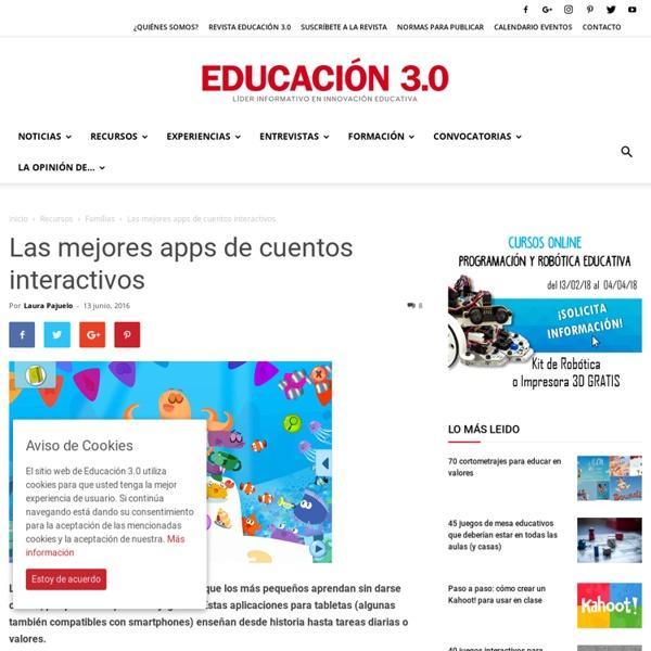 Las mejores apps de cuentos interactivos