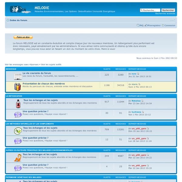 Metaux Lourds Detoxification Information Entraide