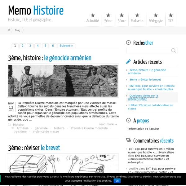 Memo Histoire ← Aide au cours d'histoire géographie