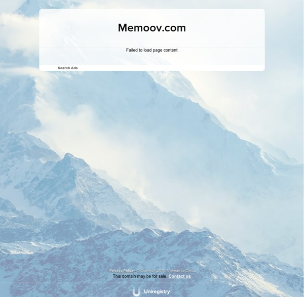 Memoov - Animation Studio online