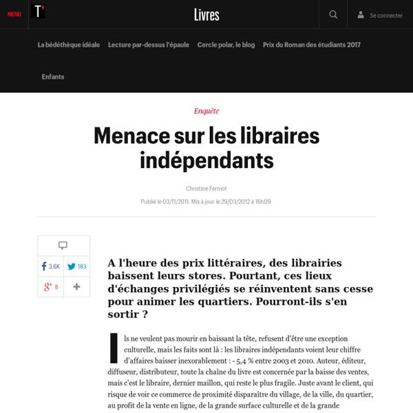 Menace sur les libraires indépendants - Livres