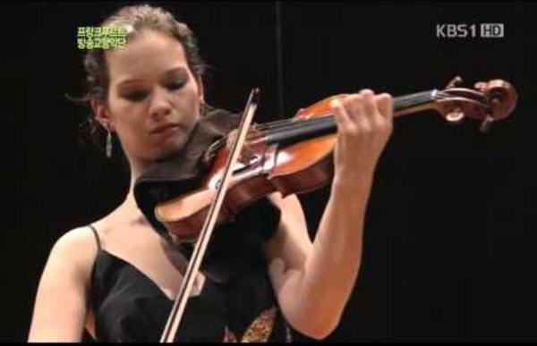 Mendelssohn Violin Concerto E Minor OP.64 (Full Length) : Hilary Hahn & FRSO