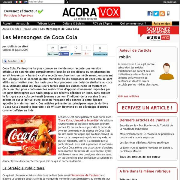 Les Mensonges de Coca Cola