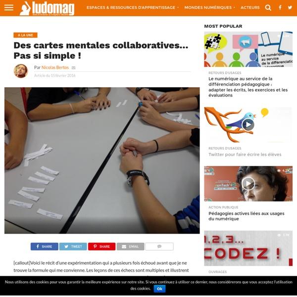 Des cartes mentales collaboratives… Pas si simple ! – Ludovia Magazine