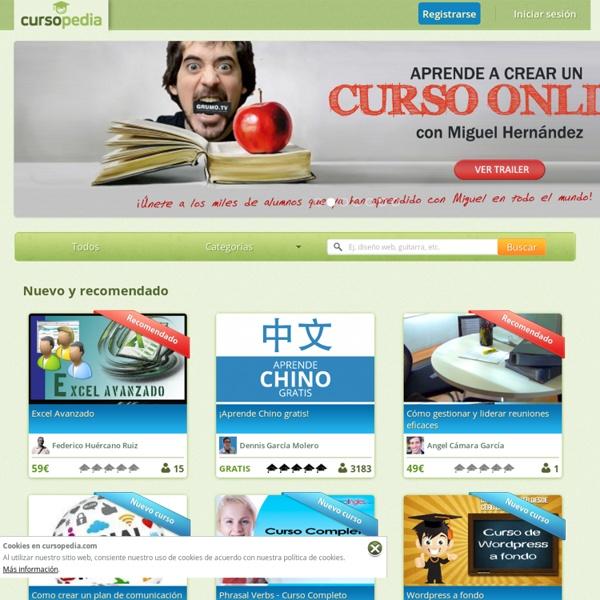 Aprende lo que quieras gratis Cursopedia.com