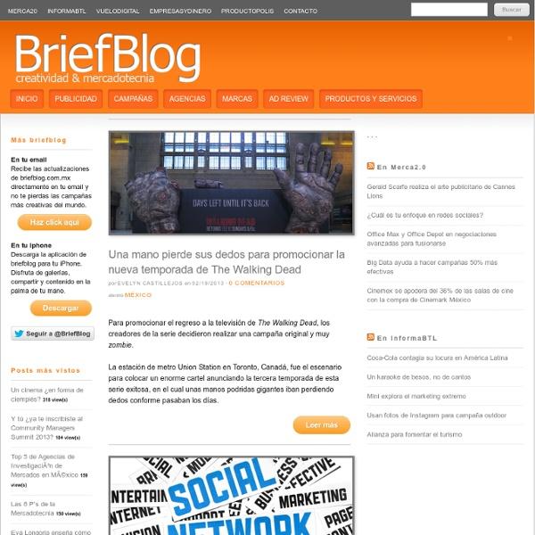 Blog de Mercadotecnia, Publicidad & Creatividad