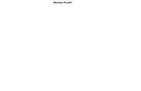Mercator Puzzle!