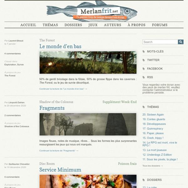 Blog Merlanfrit.net