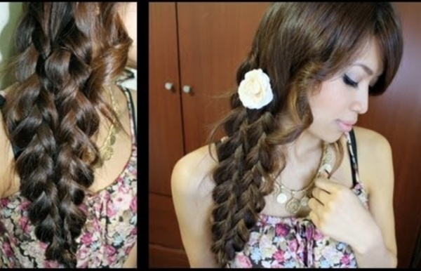 Mermaid Tail Braid Hairstyle Hair Tutorial
