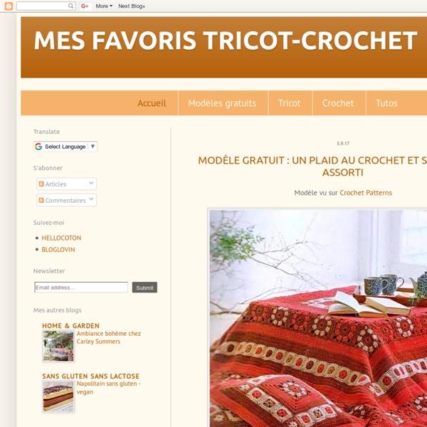 MES FAVORIS TRICOT-CROCHET