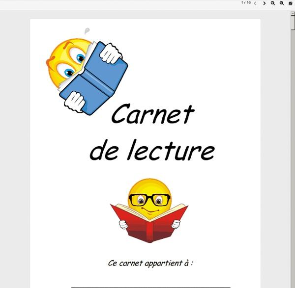 Carnet - mescarnetlecture2.pdf