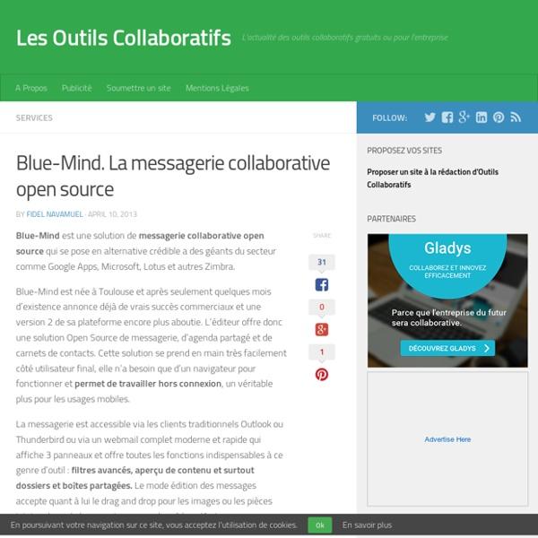 Blue-Mind. La messagerie collaborative open source