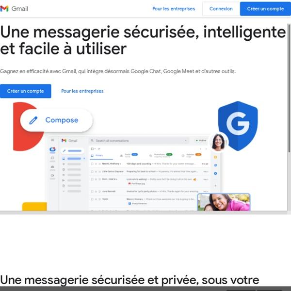 Gmail – La messagerie avec espace de stockage gratuit de Google