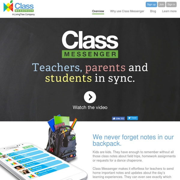 Teachers, parents and students in sync.