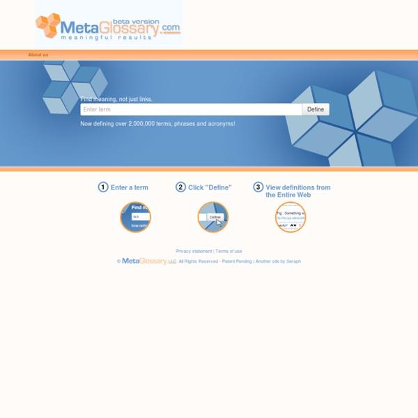 MetaGlossary.com