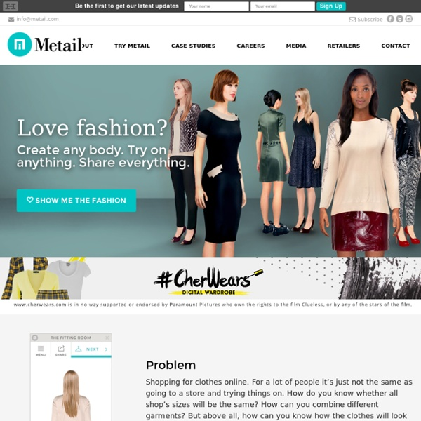 Metail - Your Personal Online Fitting Room