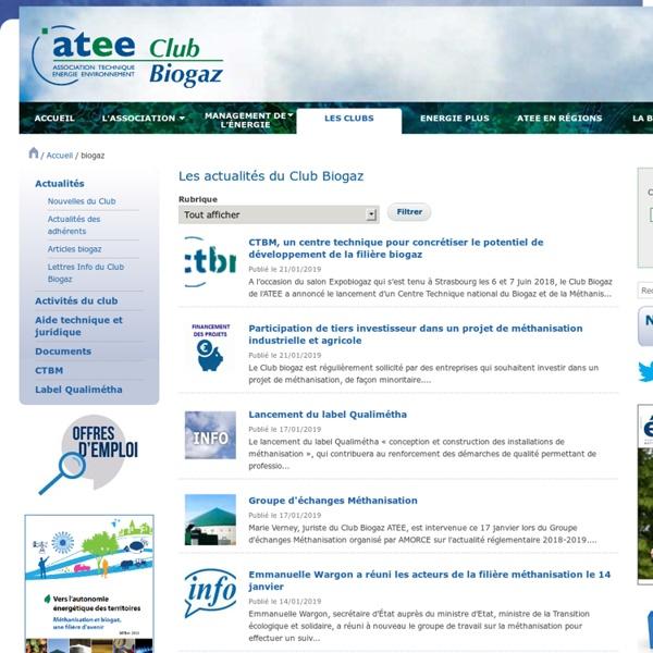 Atee Club Biogaz