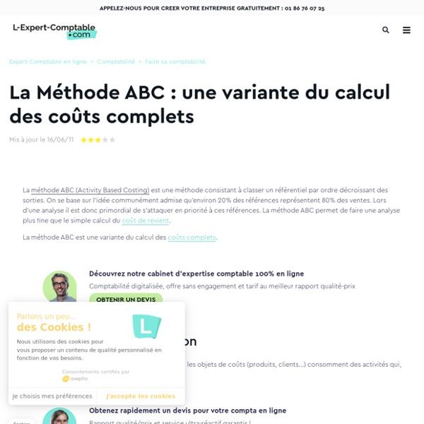 La Méthode ABC : une variante du calcul des coûts complets
