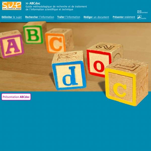 Guide méthodologique de recherche et de traitement de l'information