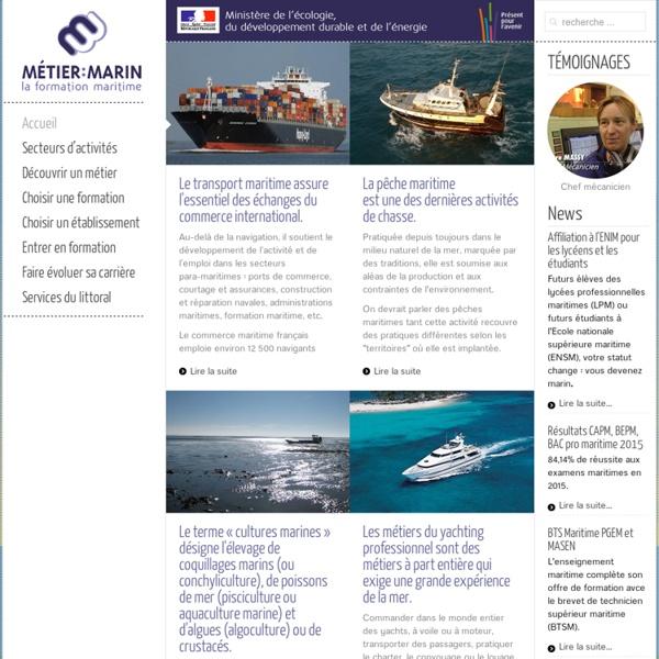 Métier:Marin - la formation maritime