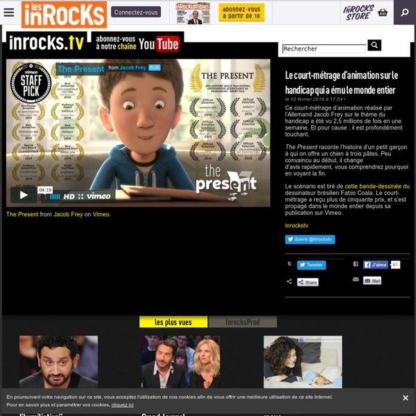 Le court-métrage d'animation sur le handicap qui a ému le monde entier