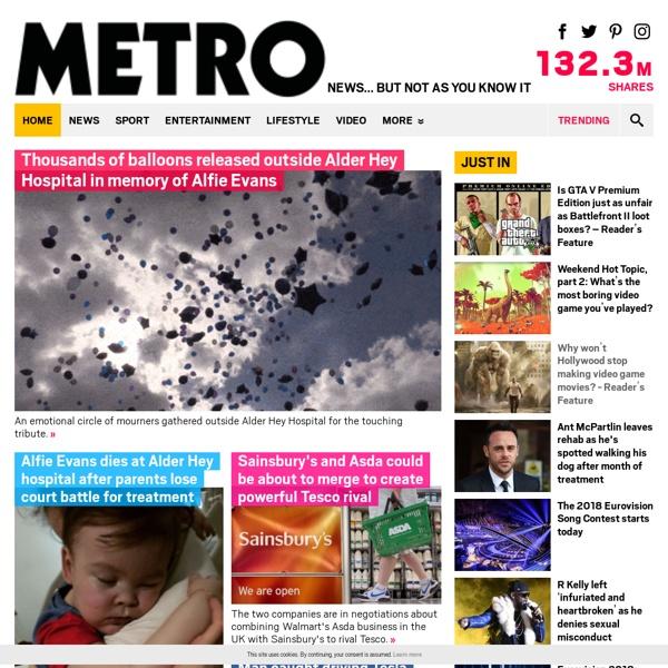 Metro.co.uk: News, Sport, Showbiz, Celebrities from Metro Newspaper