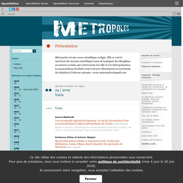 Métropoles