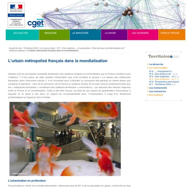 L'urbain métropolisé français dans la mondialisation