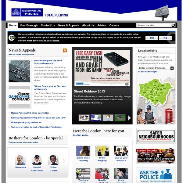 Home - Metropolitan Police Service