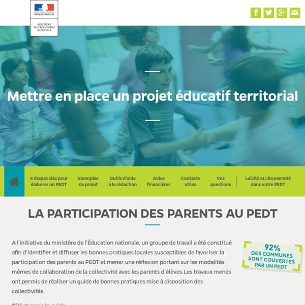 Mettre en place un projet éducatif territorial