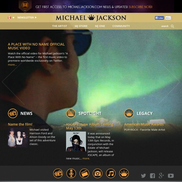 The Official Michael Jackson Site