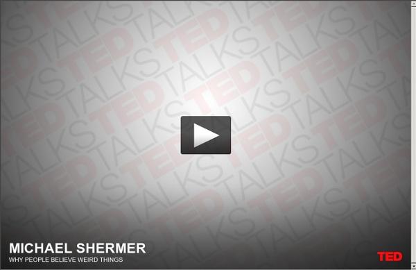 Michael Shermer on strange beliefs