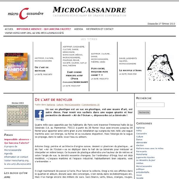 MicroCassandre