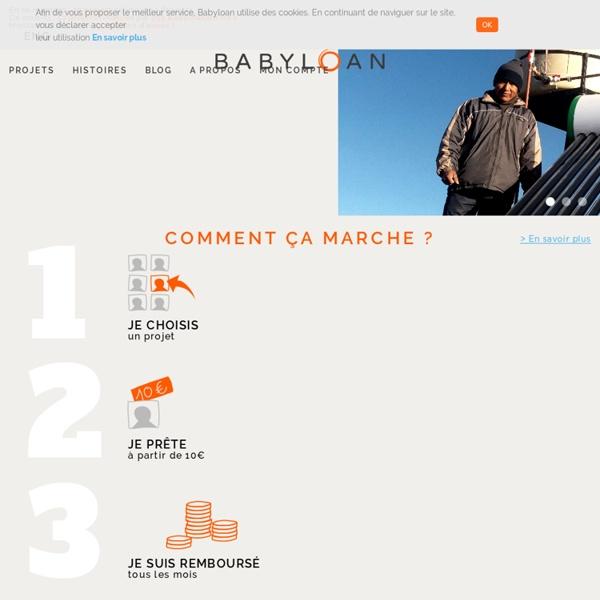 Le microcrédit solidaire en France et dans les pays en développement
