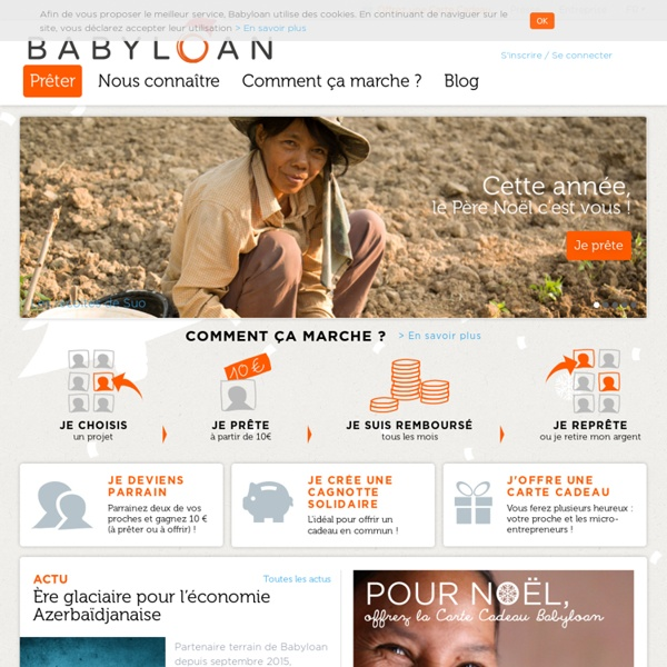 Babyloan - Micro credits solidaires