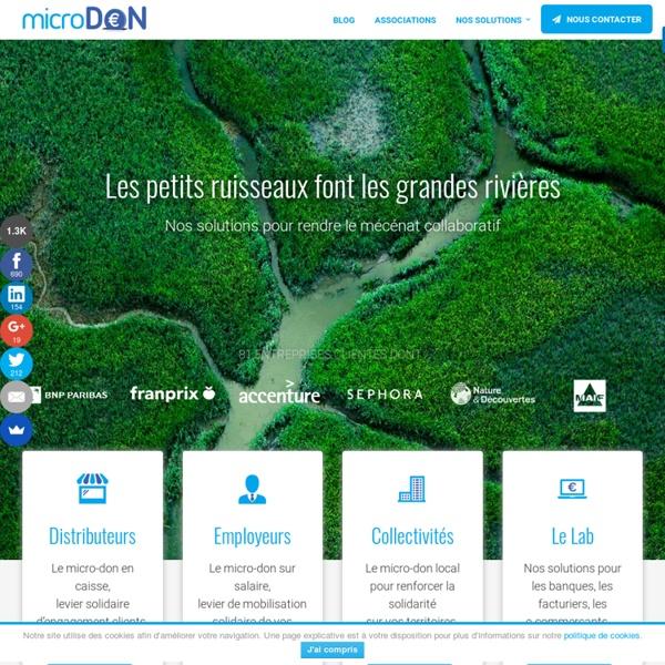 MicroDON - Collecter des fonds pour financer votre association