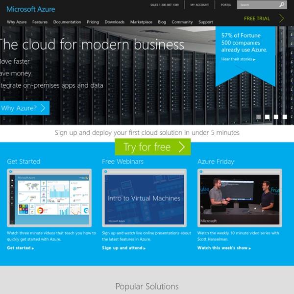 Azure: Microsoft's Cloud Computing Platform