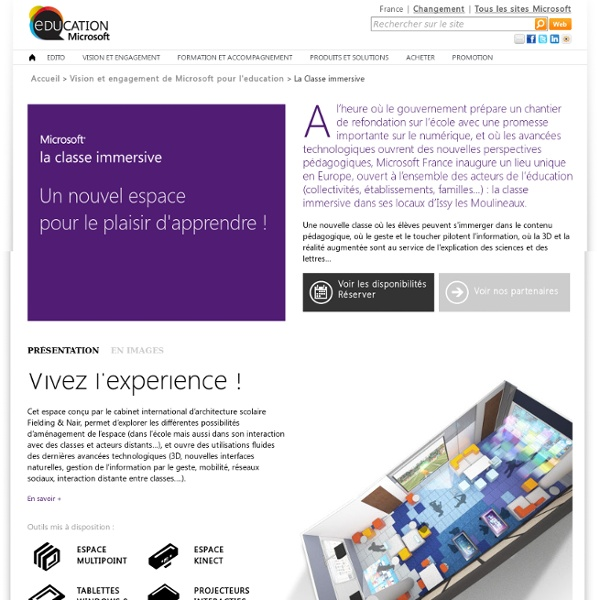 Education - la classe immersive