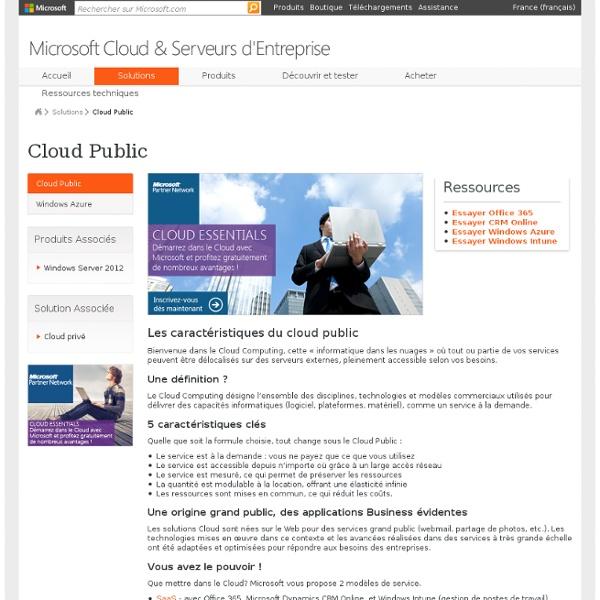 Les enjeux du Cloud Computing - Le Portail des Décideurs Informatiques