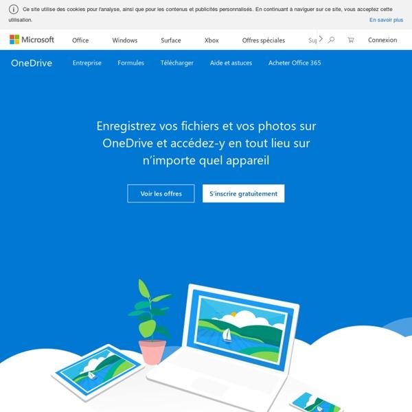 Microsoft OneDrive – Accédez partout à vos fichiers