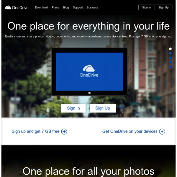 Download SkyDrive - Access, store, and share your files