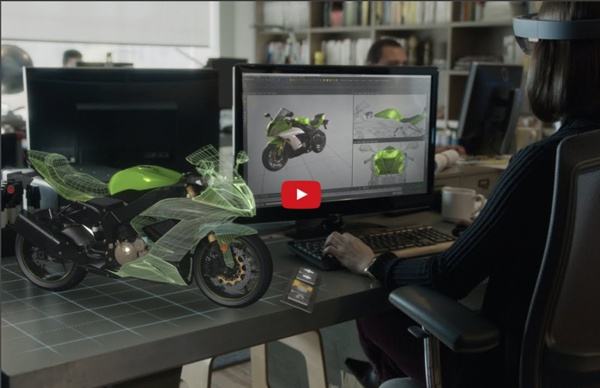 Microsoft HoloLens - Transform your world with holograms