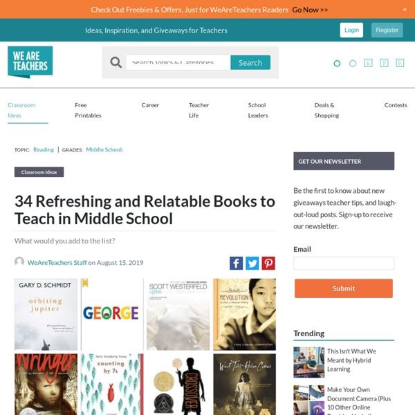 Best Middle School Books, As Chosen by Teachers