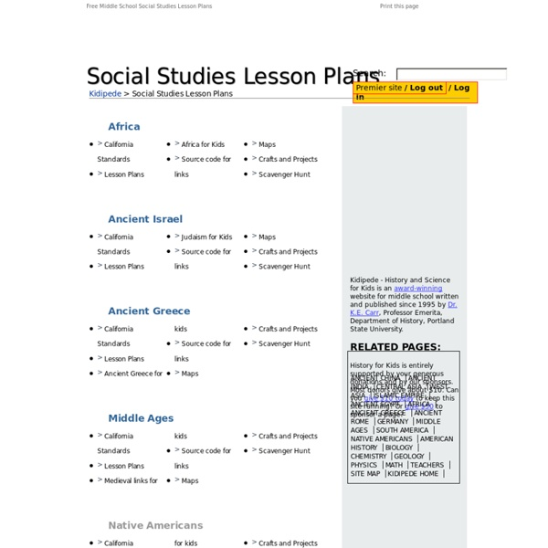Free worksheets for social studies middle school