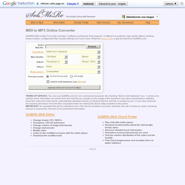 Free Midi To Mp3 Online Converter Solmire Pearltrees