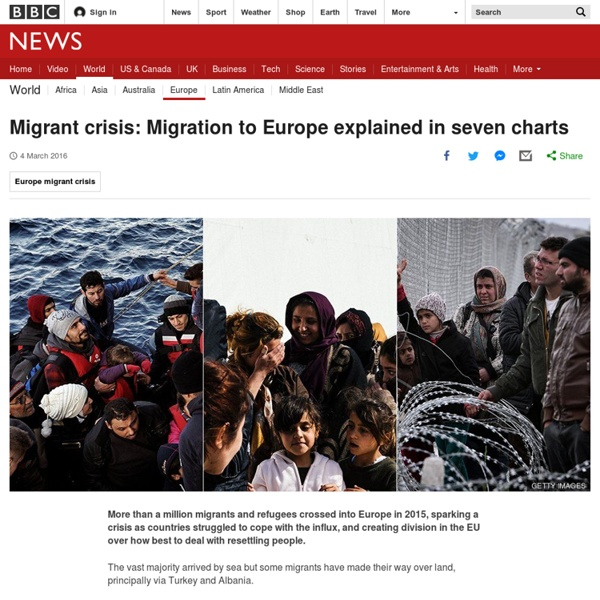 Migrant crisis: Migration to Europe explained in graphics